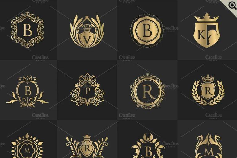32 Luxury Logo Set
