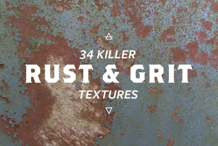34 Metal Grunge Backgrounds