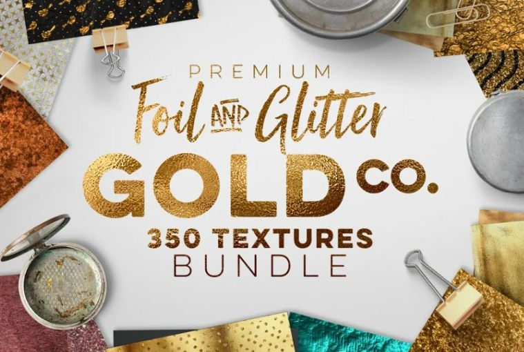 350 Foil and Glitter Backgrounds