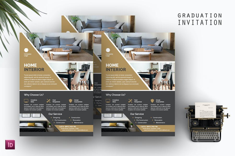4 Home Interior Flyers