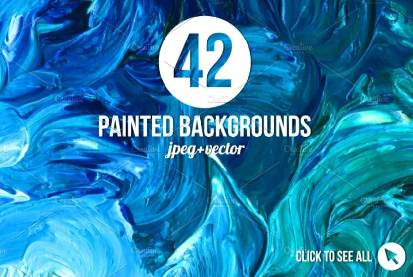 42 magical Painted Backgrounds