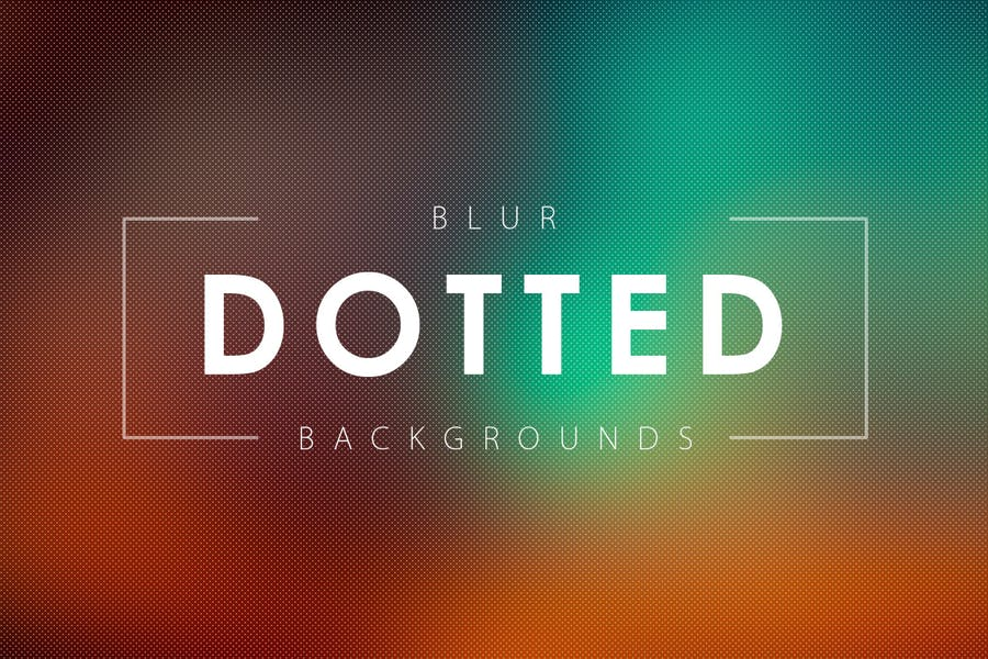 50 Blur Dotted Wallpapers
