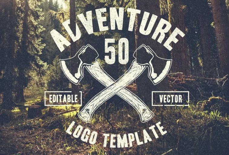 50 Mountain Vector Logo Template