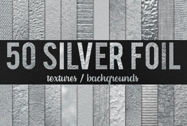 50 Unique Silver Backgrounds