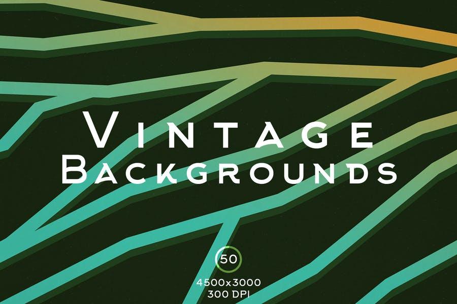 50 vintage Poster Backgrounds