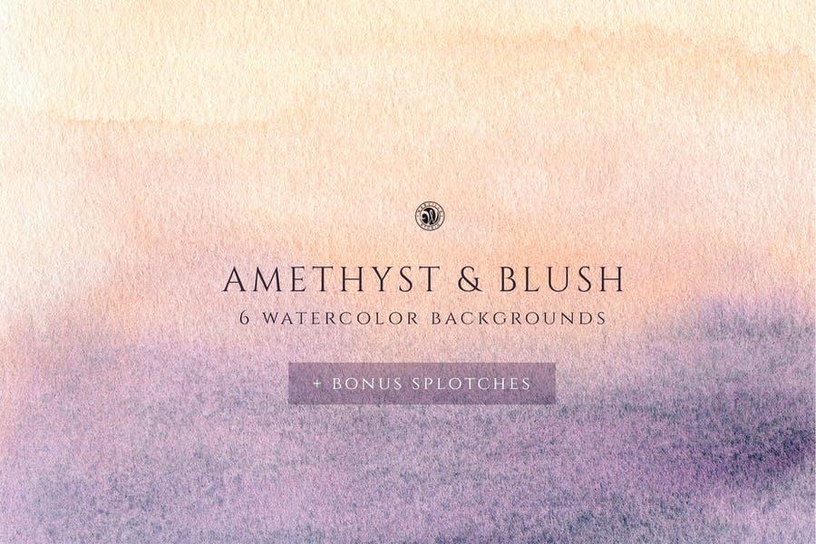 6 Blush Style Background Designs