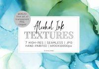 Creative ink textures