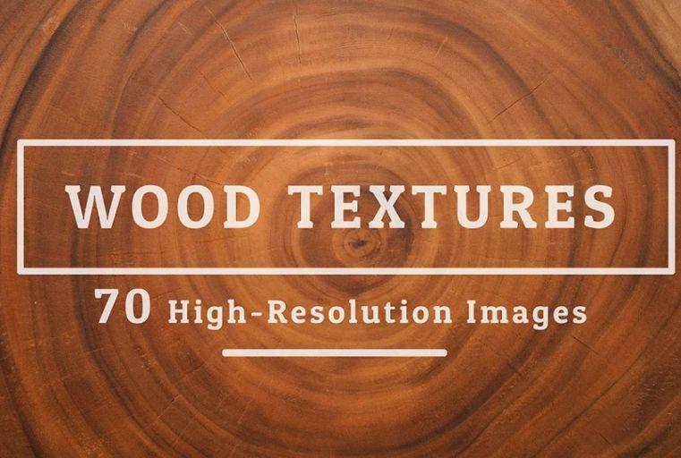 70 High Resolution Wood Textuures