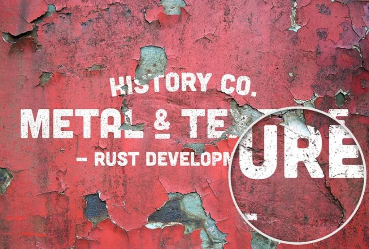 8 Metal Rust Textures