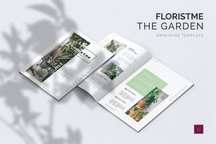 8 Pages Garden Brochure Template