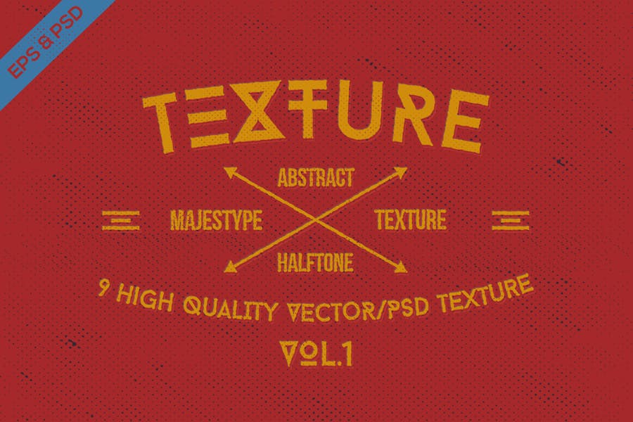 9 High Quality Halftone Textures