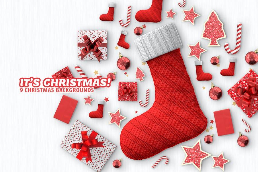 9 Unique Christmas Backgrounds