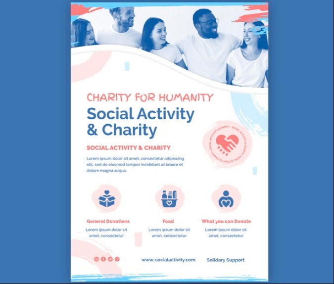 A4 and A5 Charity Event Flyer