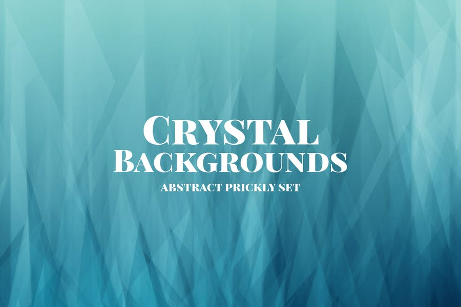 Abstract Crystal Style Backgrounds