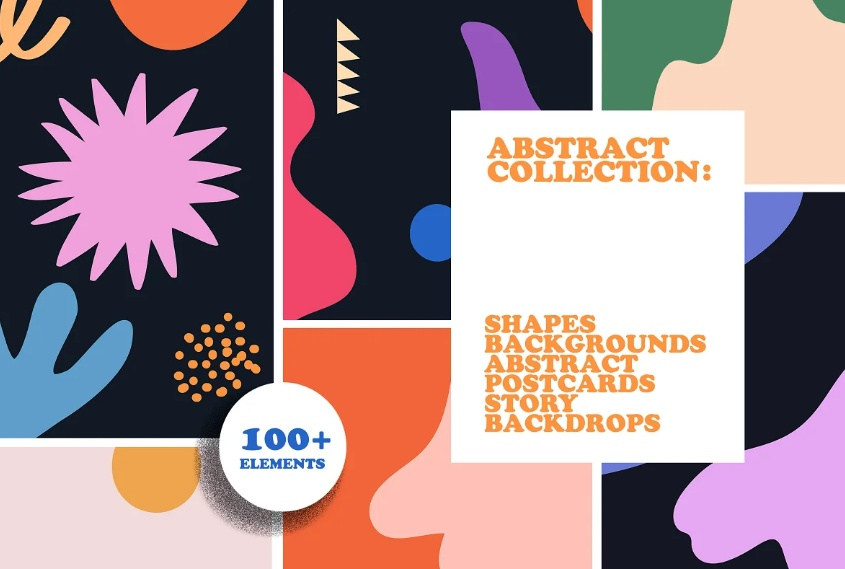 Abstract Instagram Background Designs