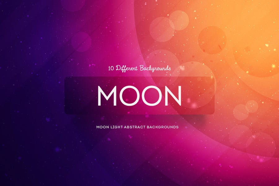 Abstract Moon light Backgrounds