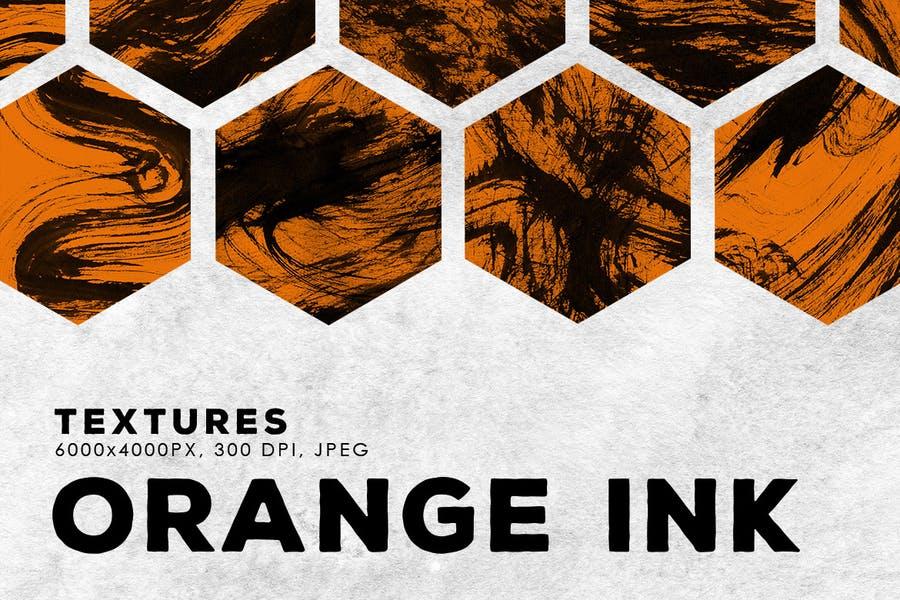 Abstract Orange Textures