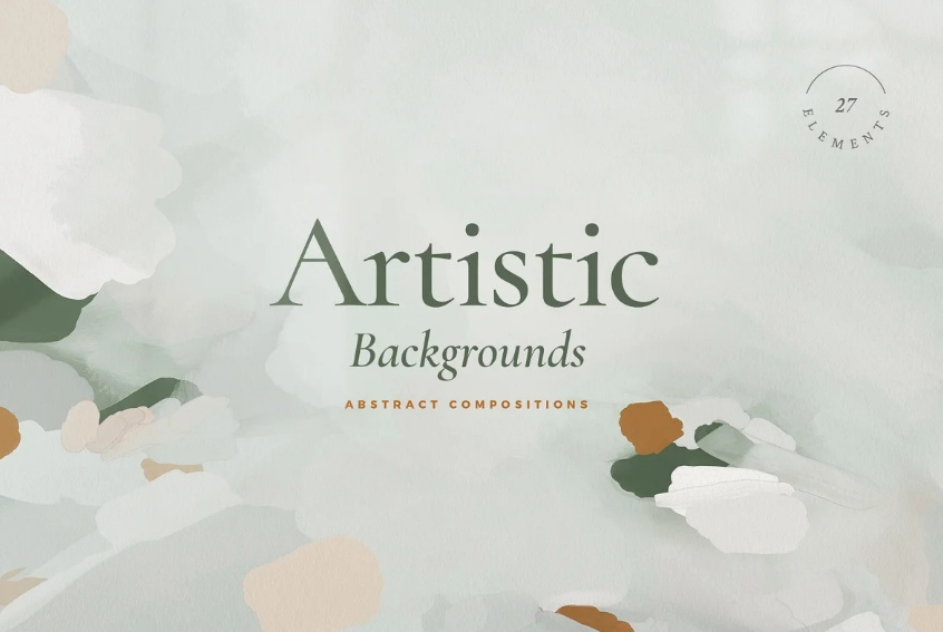 Abstract Paint Style Backgrounds