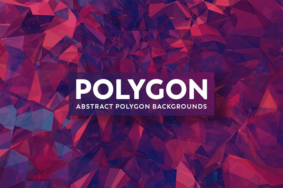 Abstract Polygon Background Design