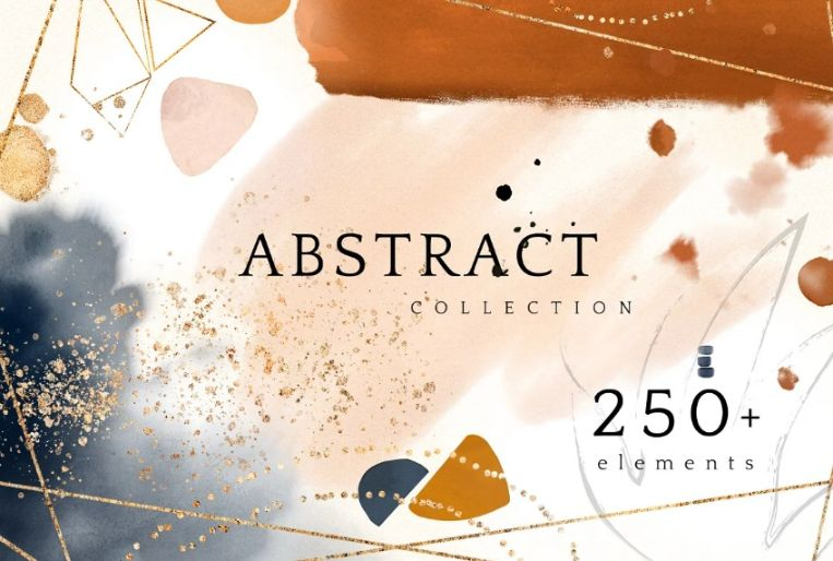 Abstract Watercolor Art Backgrounds