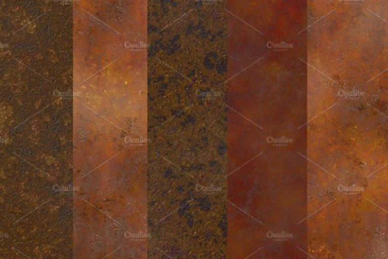 Aged Rust Metal backgrounds