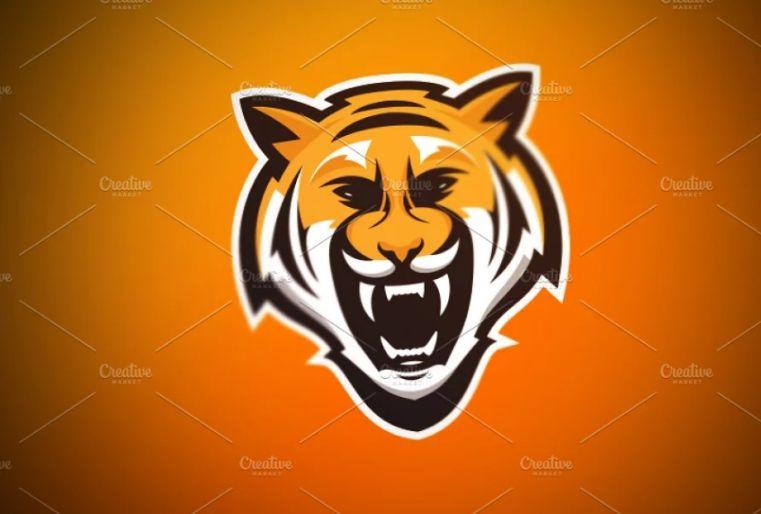 Aggressive Tiger Identity DEsign