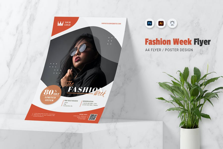 Ai and EPS Fashion Week Poster