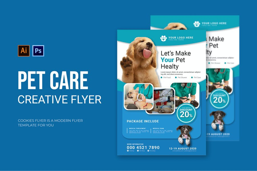 Ai and PSD Flyer Template
