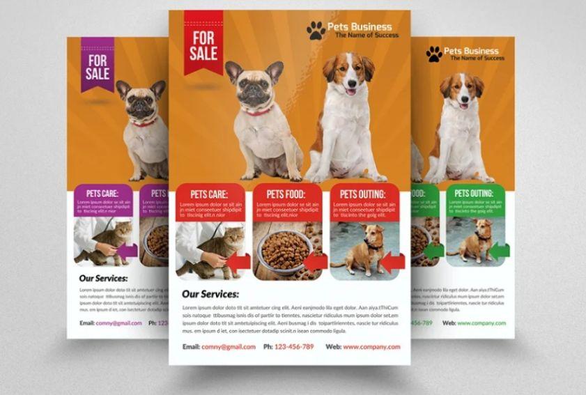 Animal Welfare Flyer Template