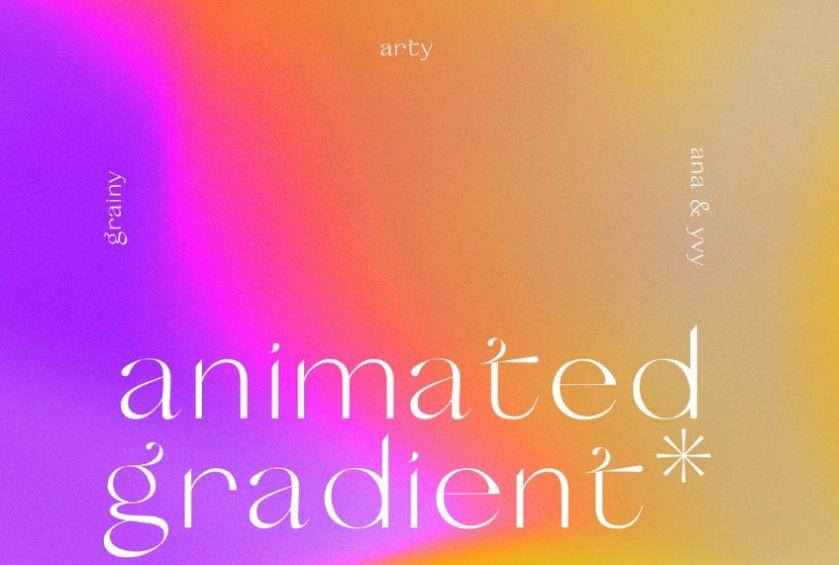 Animated Grainy Textures Background