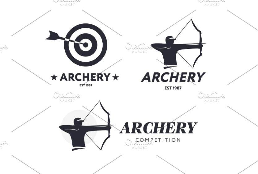 Archery Style Logo Set