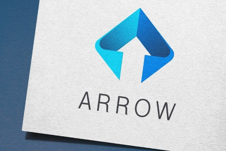 Arrow Style Building Logo