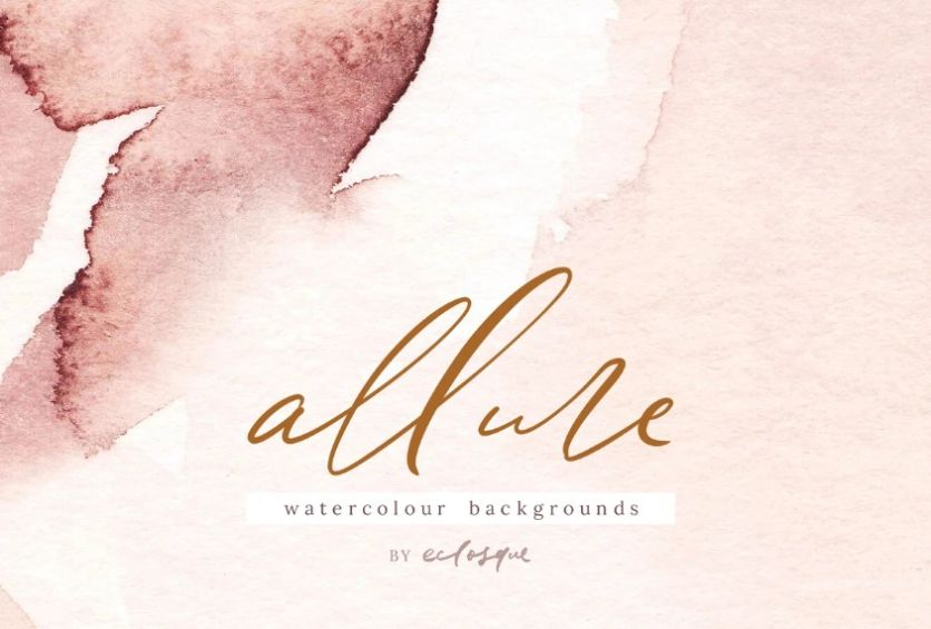 Art Style Watercolor Background Design