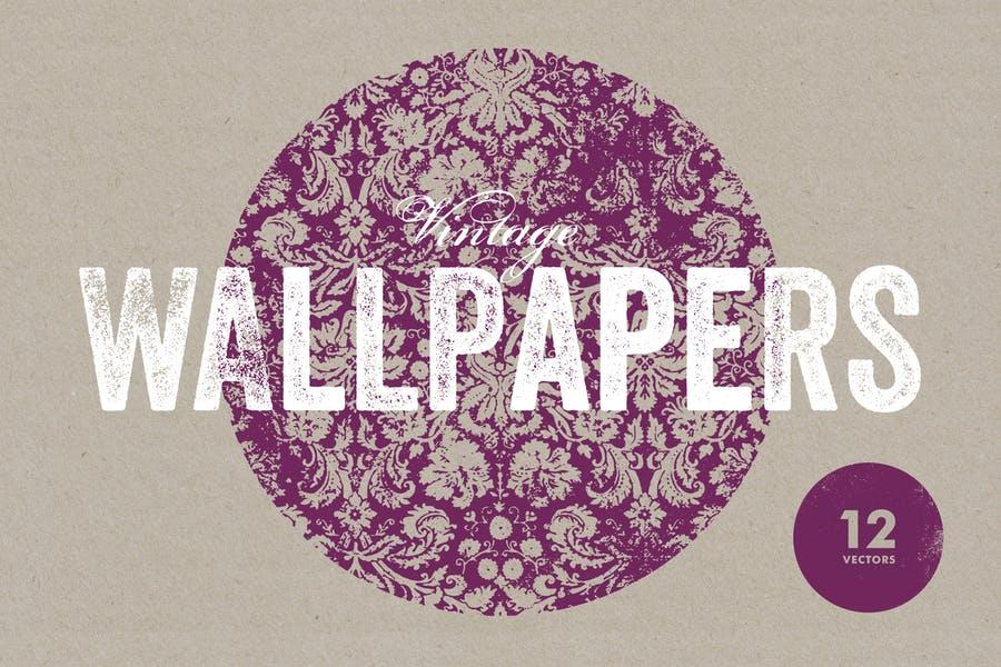 Authentic Wallpaper Background Design