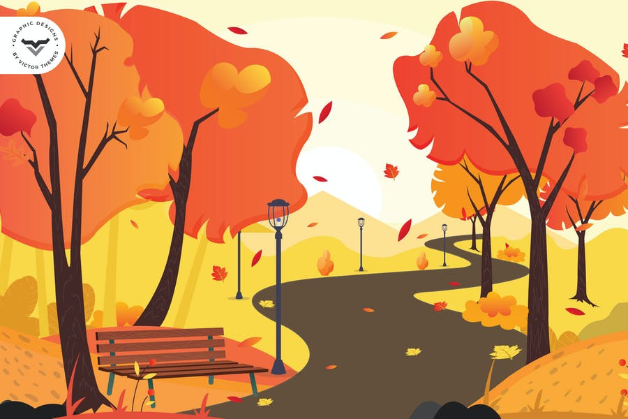 Autumn Graphic Design Backgrounds