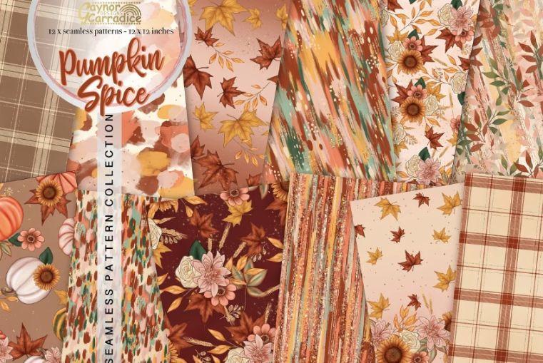 Autumn Seamless Patterns