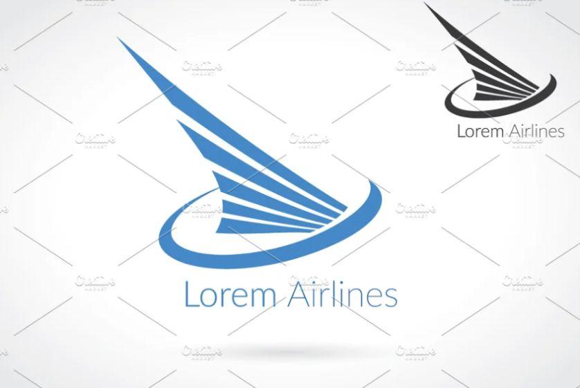 Aviation Style Logo Designs