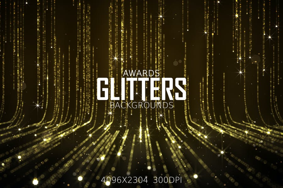 Awards Show Glitter Background Design