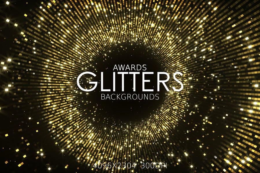 Awards Show Style Glitter Background