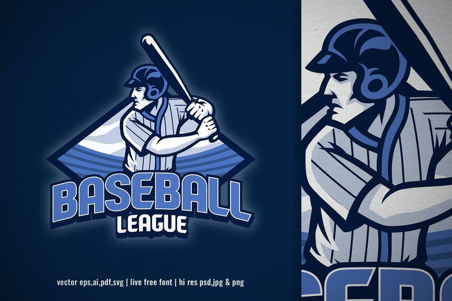 Baseball League Branding Design