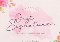 Free Signature fonts