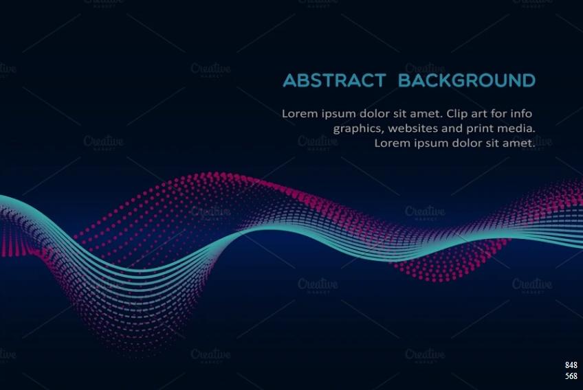 Beautiful Wave Background Designs
