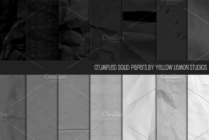 Black and green Wrinkled Backgrounds