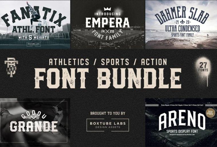 Block Style Sports Bundle