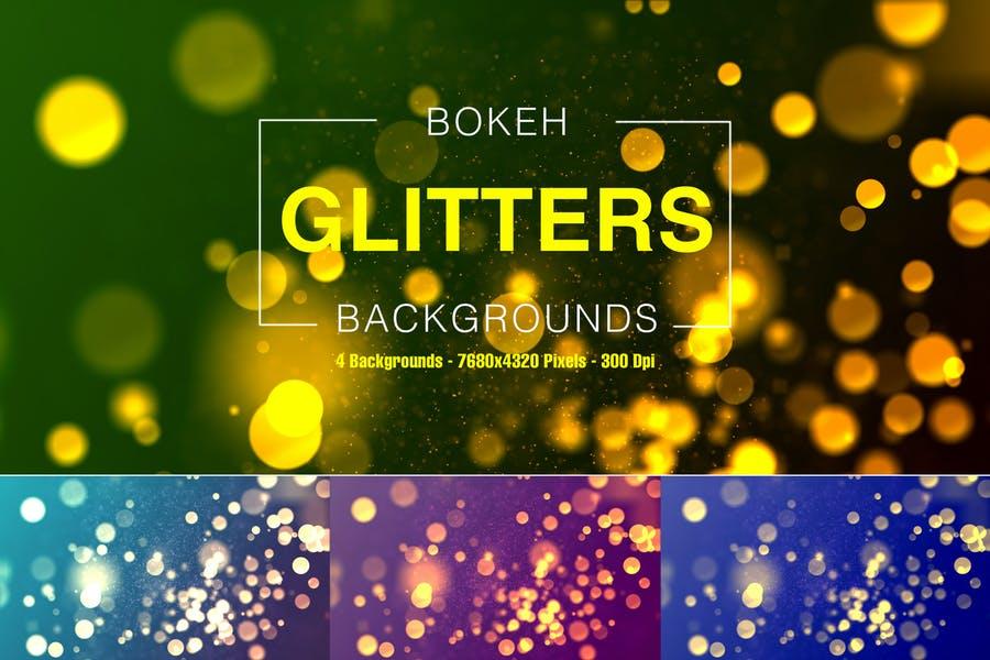 Bokeh Style Shiny Backgrounds