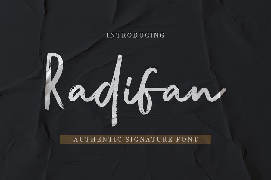 Bold Authentic Fonts