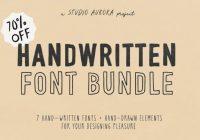 Handwritten fonts download
