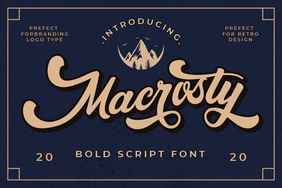 Bold Style Classic Fonts