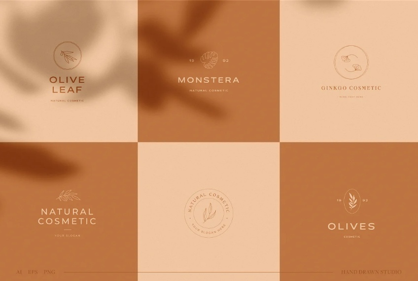 Botanical Logos Collection