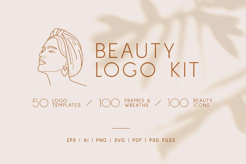Botanical Style Logo Design